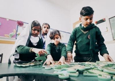 Education for Children who are blind