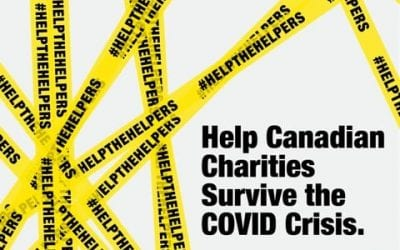 Canada's Charities Make Urgent Ask of Ottawa for $10 Billion Stabilization Fund; Their Very Survival at Risk