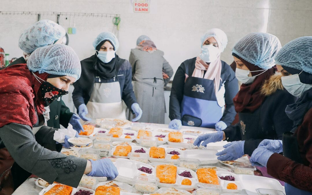 Technical and Vocational Skills Training for Palestinian Women