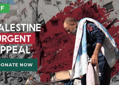 Appel d'urgence en Palestine