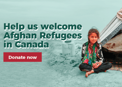 Help us Welcome Afghan Refugees to Canada