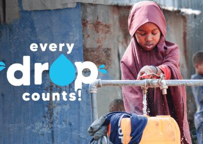 Water wells in East Africa